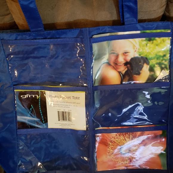 Handbags - Photo pocket tote